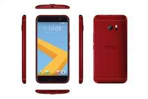 HTC 10 قرمز معرفی شد/ عکس