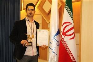 کسب مدال طلای مسابقات مهارت ملی در رشته تراش CNC توسط دانشجوی واحد نجف آباد