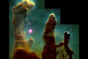 ستون های آفرینش /تصویر نجومی روز ناسا