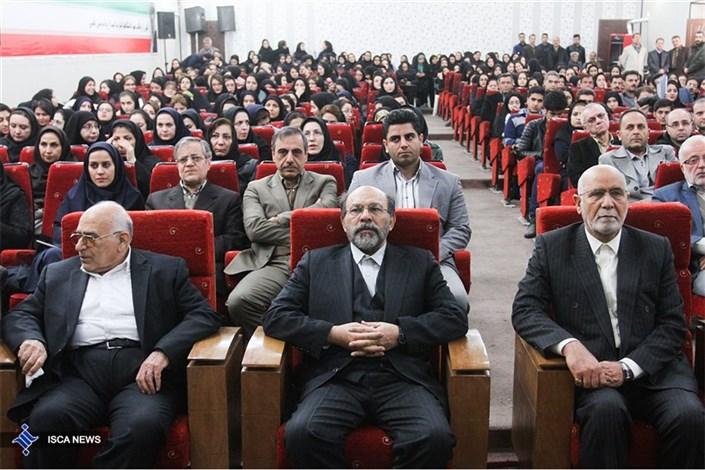 افتتاح پروژههای عمرانی واحد علوم و پزشکی تهران با حضور دکتر میرزاده