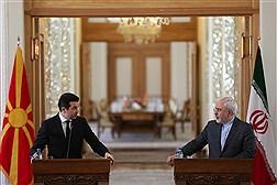 دیدار وزرای خارجه ایران و مقدونیه