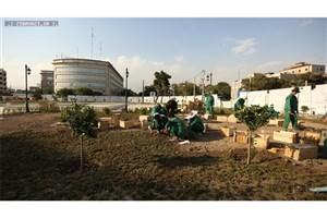 آغاز فاز دوم بازپیرایی میدان تاریخی راه آهن /دسترسی مسافران به تاکسی در میدان راه آهن