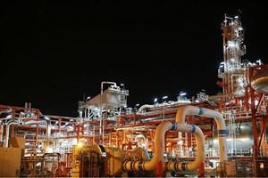 افزایش 21 درصدی فرآورش گاز در پارس جنوبی در سال 1394