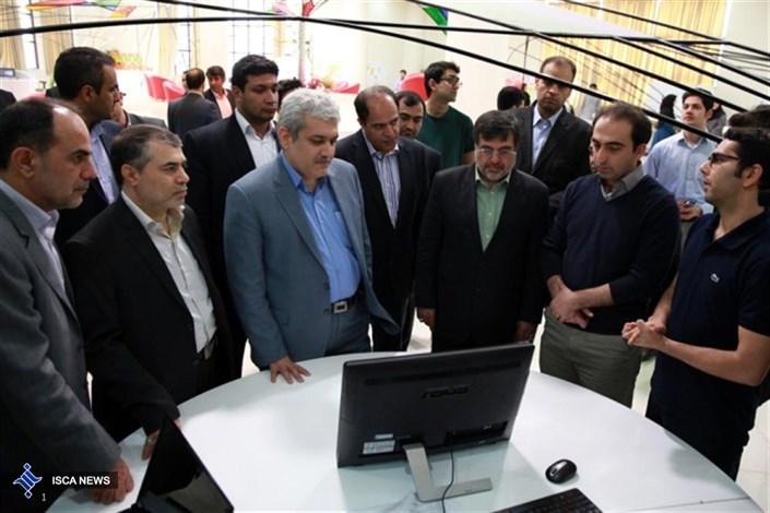 بازدید معاون علمی رییس جمهور از مرکز فناوری و نوآوری سینتک دانشگاه آزاد اسلامی قزوین