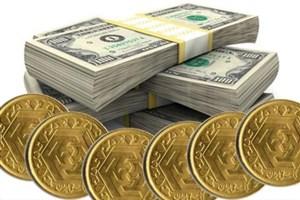 کاهش قیمت سکه در بازار آزاد/ دلار 4492 تومان