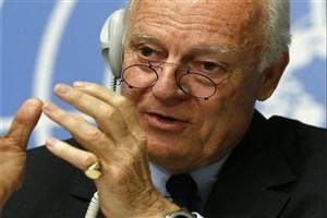 دیمیستورا: نشست ایران-روسیه-ترکیه درباره سوریه بسیار مهم است