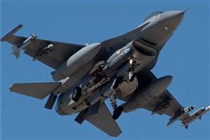 سقوط جنگنده اف ۱۶ گارد ملی آمریکا در آریزونا