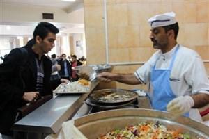 نرخ مصوب غذای دانشجویی در سال تحصیلی ۹۷-۹۶