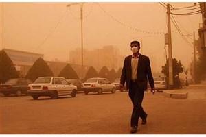 گرد و غبار هوای اهواز 55برابر حد مجاز شد