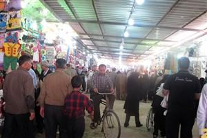 مشتریان ایرانی «بازار آمریکایی» کربلا/پوتین آمریکایی، سوغات زائران جوان ایرانی