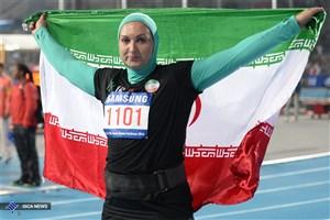 دو مدال طلا در رقابت های دوومیدانی قزاقزستان در کارنامه ایران ثبت شد
