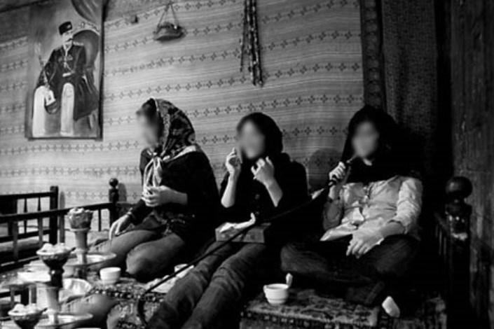 مصرف قلیان در دختران