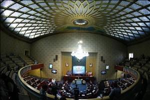 پایان روز نخست همایش فرآیند قانونگذاری/حضور سردار سلیمانی، شمخانی و ۳ وزیر دولت یازدهم در روز دوم همایش