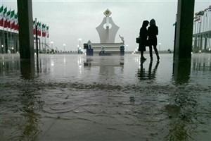 توضیحات معاون اجرایی نمایشگاه کتاب درباره بارندگی در شهرآفتاب