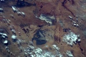 گنبدهای نمکی ایران از فضا چگونه دیده می شوند؟/عکس