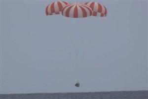 بازگشت موفق فضاپیمای دراگون به زمین