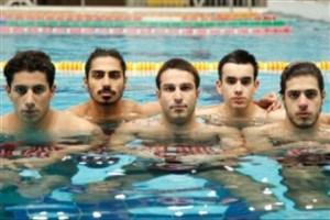 حضور کادر فنی و شناگران تیم ملی ایران در شبکه ورزش