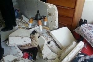 انفجار در یک واحد مسکونی در شهر ری /نجات زن جوان توسط آتش نشانان