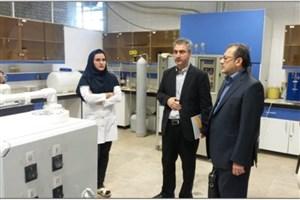 نشست مشترک روسای واحد آیت الله آملی و سازمان پژوهشهای علمی و صنعتی ایران