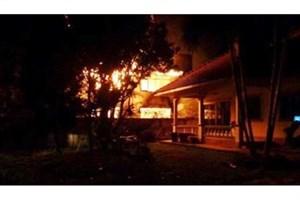 17دانشآموز  سه تا 13  ساله  تایلندی در آتش سوختند