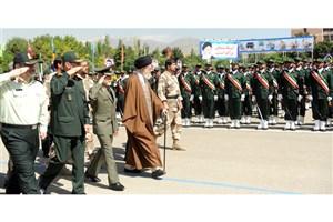 برگزاری مراسم دانشآموختگی دانشجویان دانشگاه امام حسین(ع) با حضور فرمانده کل قوا