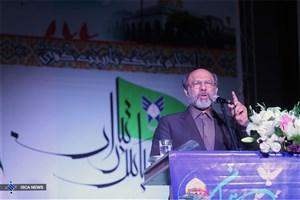 سخنان رییس دانشگاه آزاد اسلامی در مراسم گرامیداشت شهدای مدافع حرم