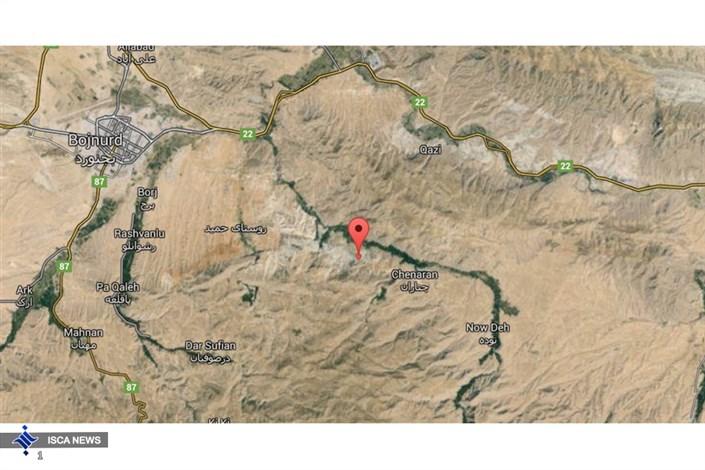 زلزه در بجنورد