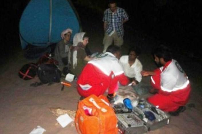 نجات سه گردشگر اسپانیایی گمشده در کلوت های شهداد کرمان