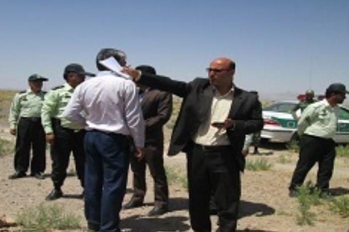 رفع تصرف 50هکتار از اراضی ملی در روستای گهرت