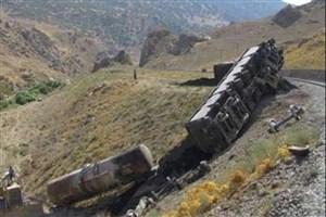 واژگونی قطار باری ایران به ترکیه