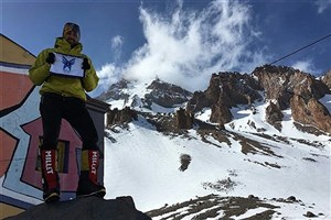 Student of Hamadan IAU Conquers Mount Kazbek