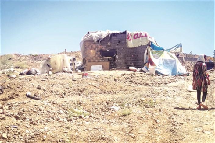 روایتی از زندگی خانواده های آسیب دیده در صلوات تپه بومهن