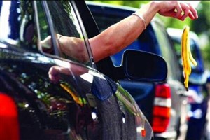 جریمه 30 هزار تومانی پرتاب زباله از خودرو