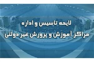 شورای نگهبان لایحه تأسیس و اداره مدارس و مراکز آموزشی و پرورشی غیردولتی رد کرد