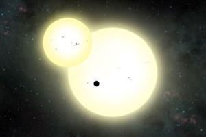 کشف سیارهای شبیه به مشتری که دو ستاره دارد
