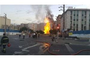 مدیر عامل مترو: ترکیدگی لوله گاز منطقه شهران ربطی به مترو نداشت/اورژانس تهران با موردی از فوت روبرو نشد