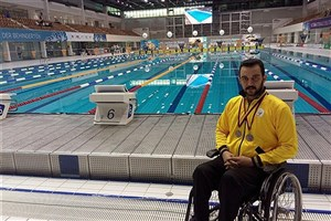 Paraplegic Student of Kerman IAU Ranks 3rd at IDM 2016