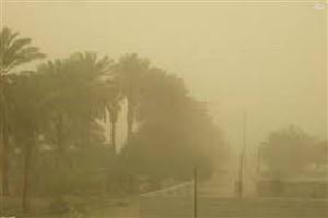آسمان استان کرمانشاه در تسخیر ریزگردها