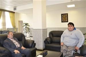 سیامند رحمان دانشجوی دانشگاه آزاد اسلامی واحد ارومیه: رکورد پارالمپیک را در برزیل بهبود خواهم داد