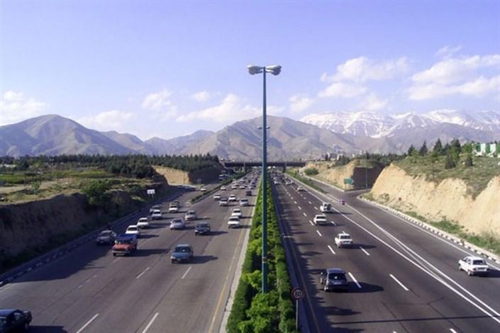 جاده روان و بدون ترافیک