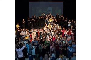 جشن تولد عباس کیارستمی در تالار اصلی تئاتر