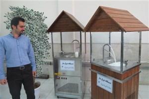 درسال اقتصاد مقاومتی ،اقدام و عمل/ساخت نخستین دستگاه دوغ ساز ایرانی در دانشگاه آزاد اسلامی واحد فیروزکوه