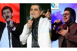 """تیتراژخوانی فریدون آسرایی، حجت اشرف زاده و شهاب رمضان برای """"دوباره گوش کن"""""""