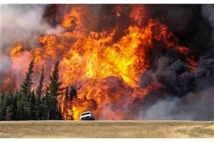 تغییرات آب و هوایی موجب تشدید آتش سوزی ها در جهان