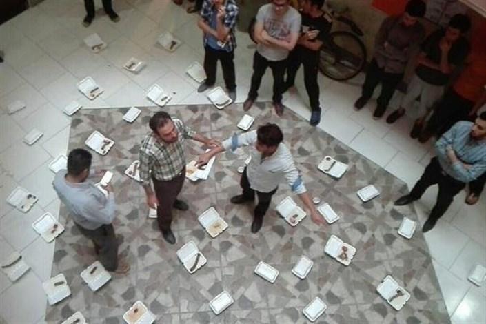 دانشجویان به کیفیت پایین غذا اعتراض کردند