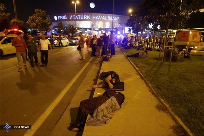 انفجار تروریستی در فرودگاه آتاترک استامبول