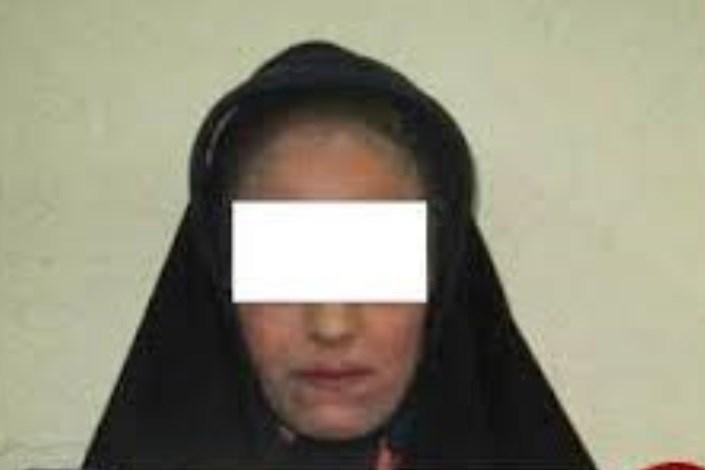 زن سارق دستگیر شد