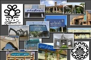 دانشگاههای مجری برگزاری ترم تابستان