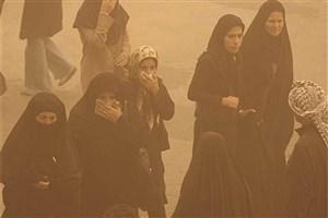 ورود گرد و خاک به استان کردستان/هوا در شرایط ناسالم قرار گرفت
