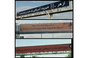 اعتراض معززی نیا به بیلبوردهای تبلیغاتی شهرداری/لطفا یک ویراستار استخدام کنید!